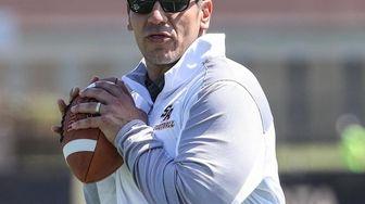 St. Anthony's head coach Joe Minucci participates in