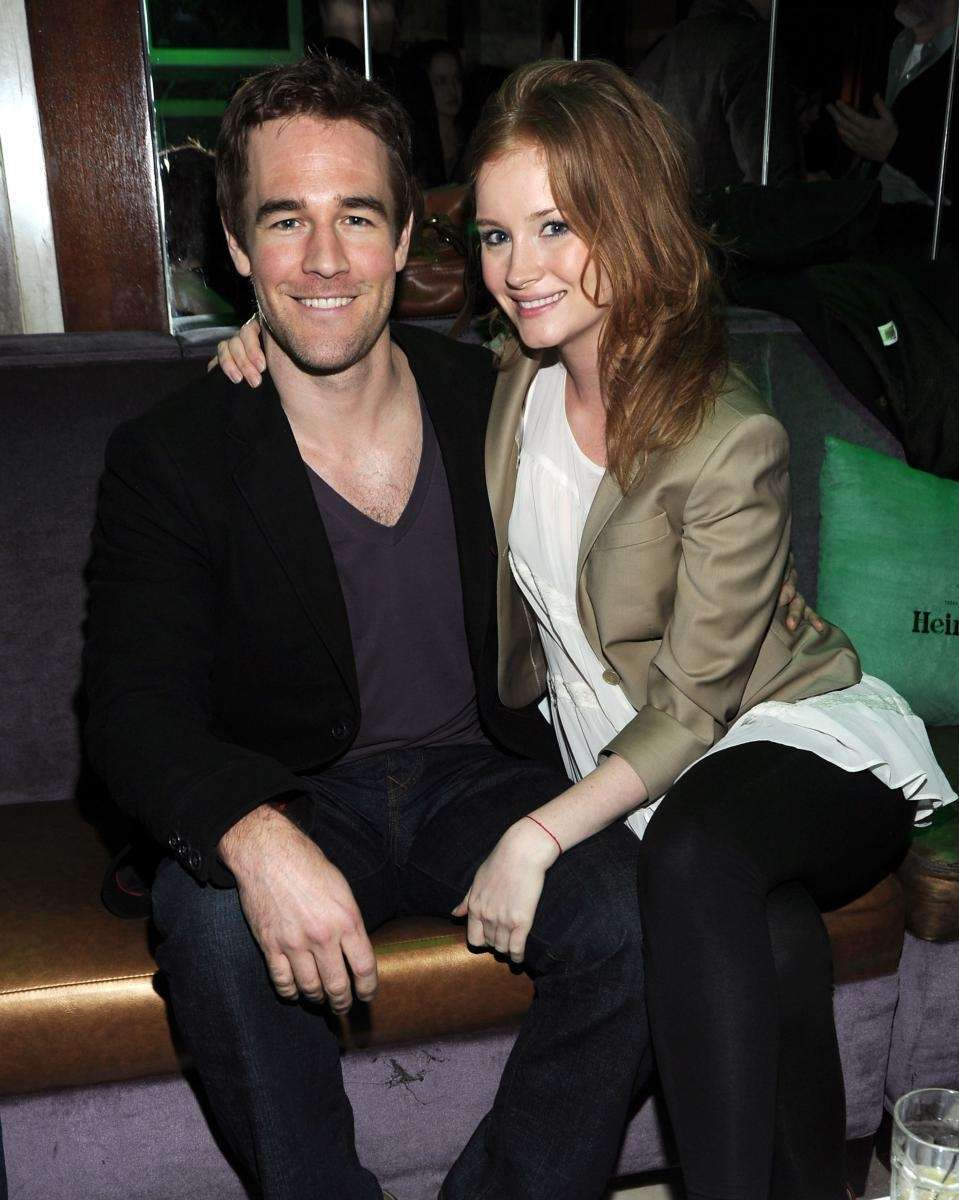 Parents:James and Kimberly Van Der Beek Children:Olivia, born,