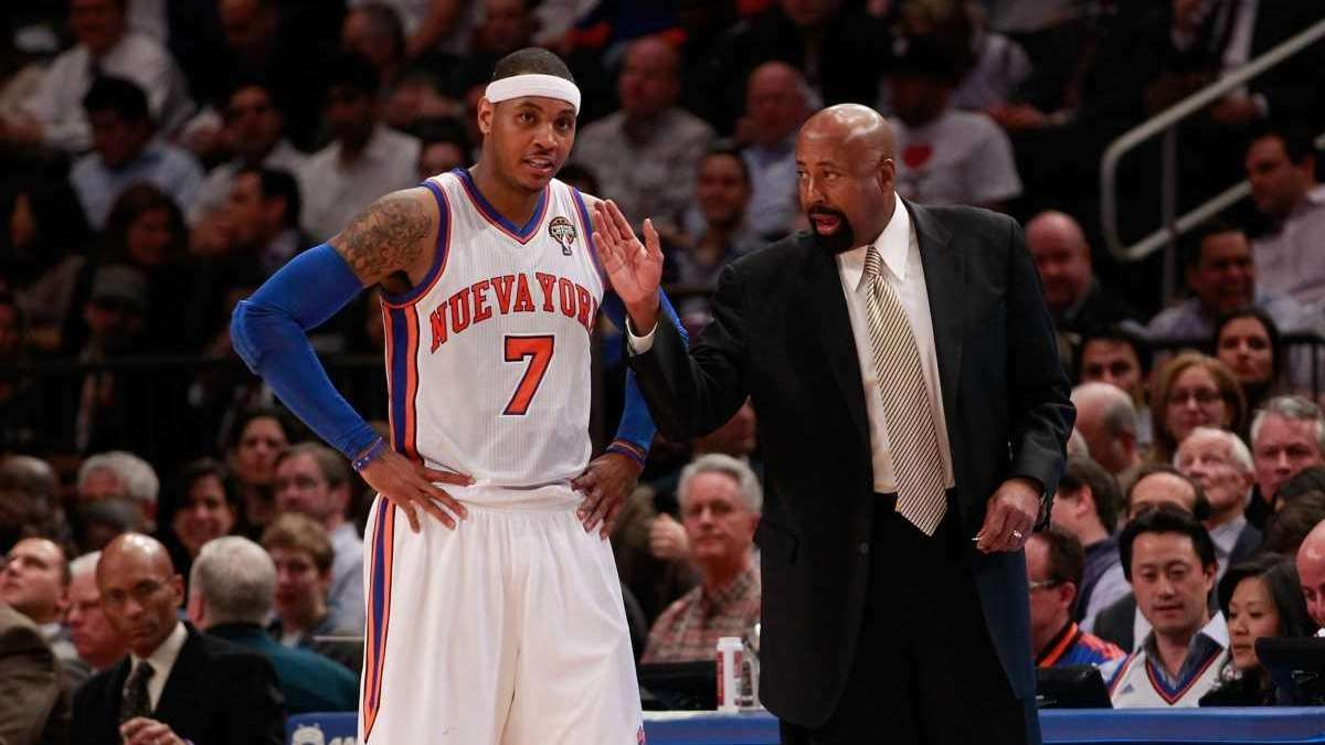 Carmelo Anthony Mike Woodson meant a lot to me