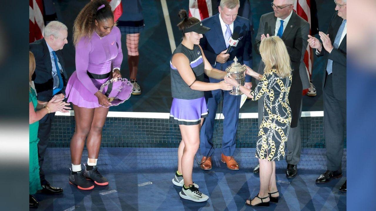 Serena Williams discusses her lossto Bianca Andreescu in