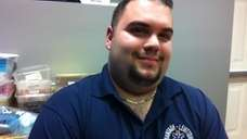 Mike Muccio, 28, of Seaford, is the chief