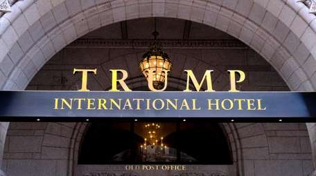 Trump International Hotel in Washington.