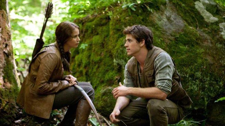 Jennifer Lawrence stars as Katniss Everdeen and Liam