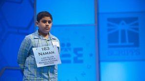 Naman Shakrani, 10 and a student at W.