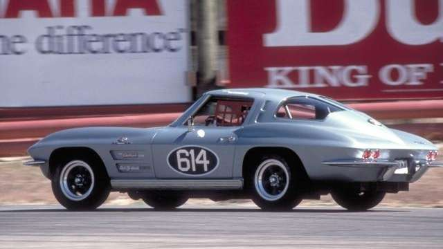 Although the 1963 Corvette Sting Ray was available