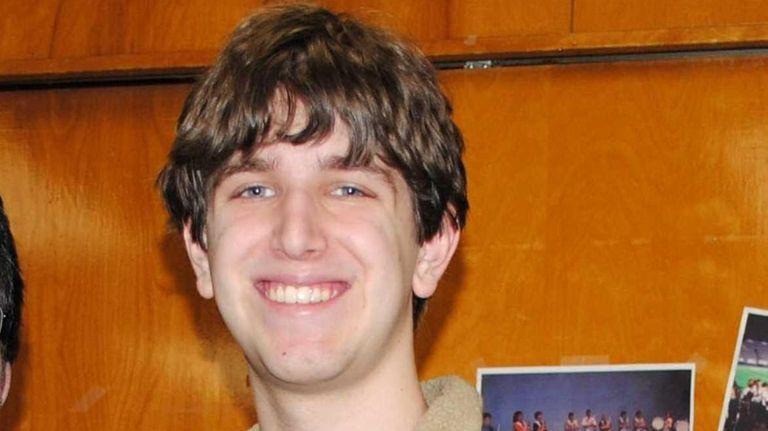 David Davani, a senior at North Shore High