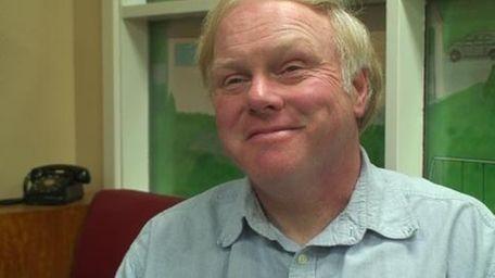 Robert Koenig, a member of the Levittown Historical