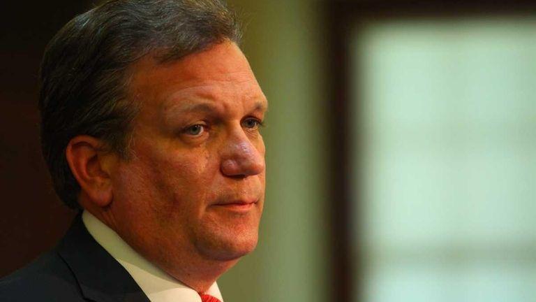 Nassau County Executive Edward Mangano's plan to hire