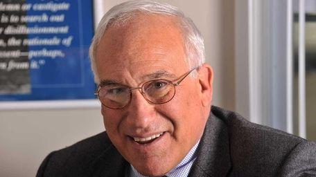 Incumbent Mayor Paul Pontieri and the two trustees