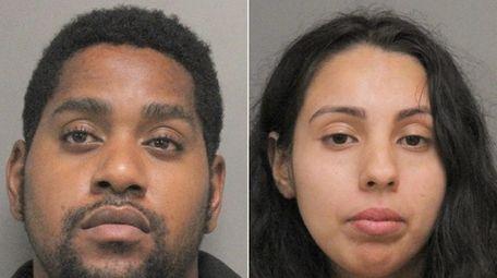 Johnathan Sunderland, 31, and Jennifer Garcia, 25, both