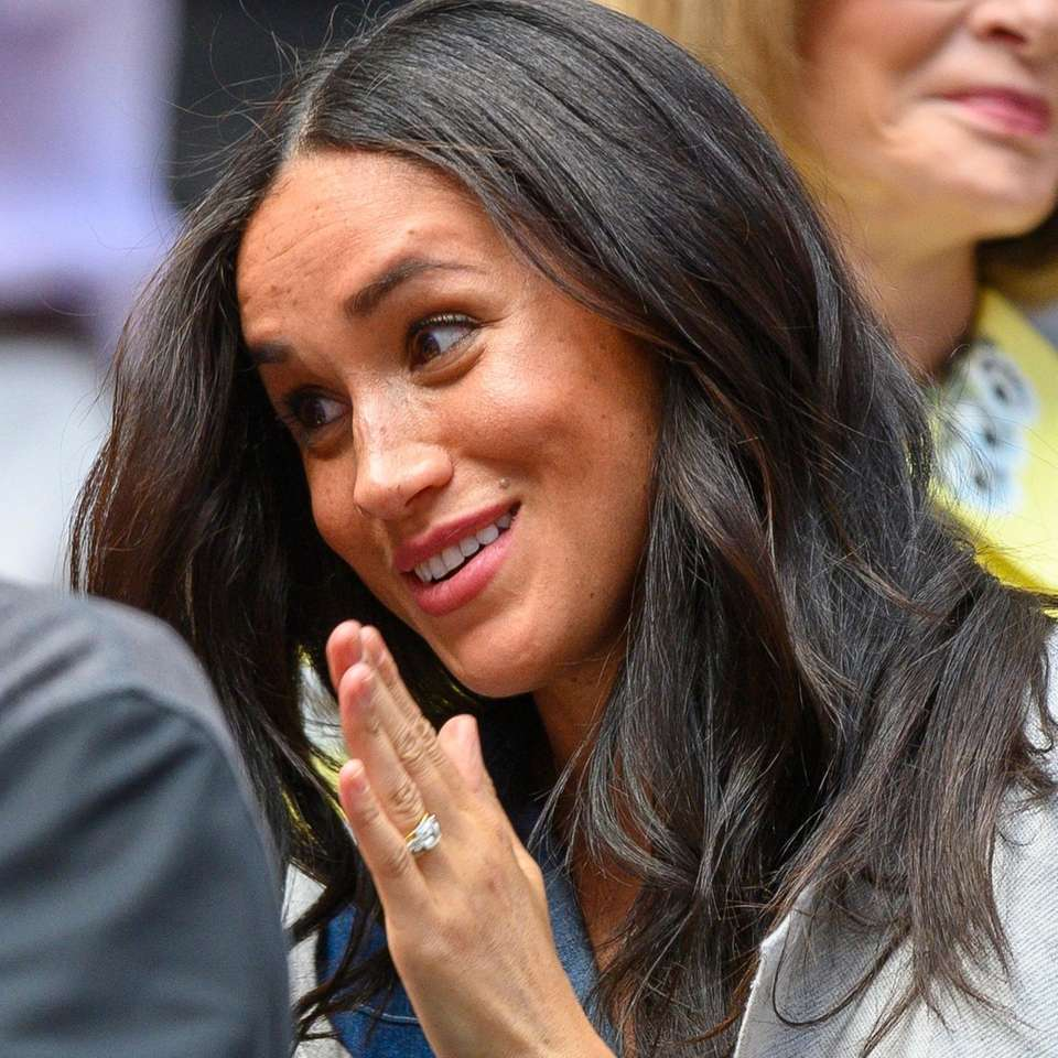 Meghan, Duchess of Sussex was in Serena Williams'