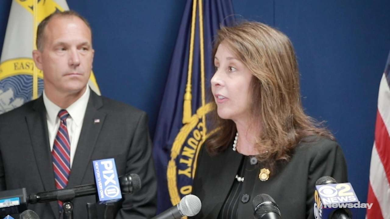 Suffolk Police Commissioner Geraldine Hart on Monday issued