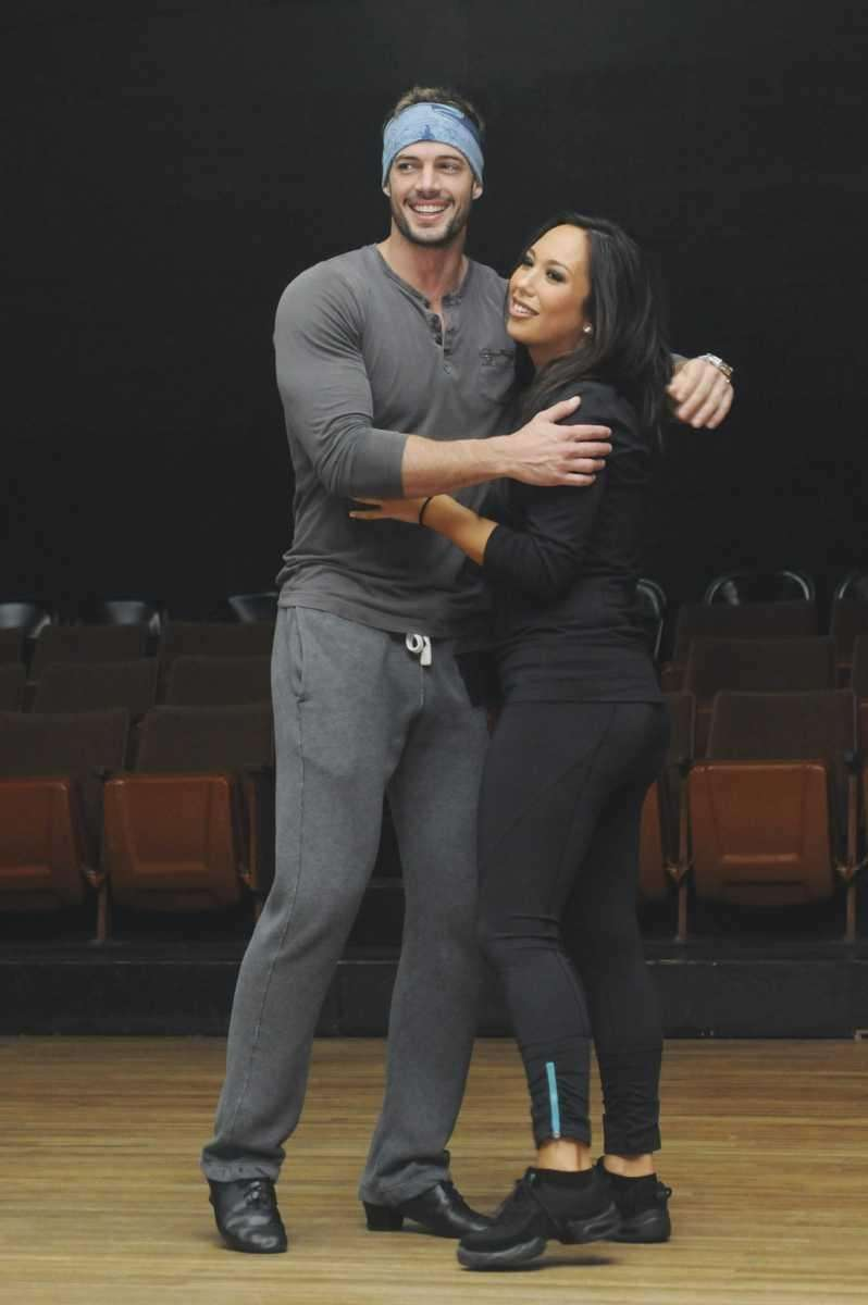 William Levy and Cheryl Burke pose in