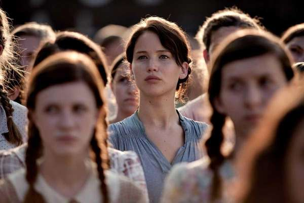 Jennifer Lawrence stars as Katniss Everdeen in