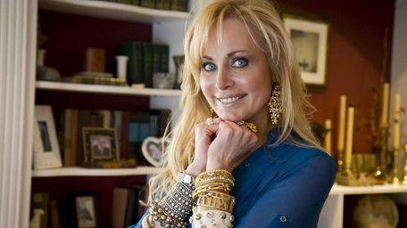 Nancy Rosen of Huntington is bedecked in bangles