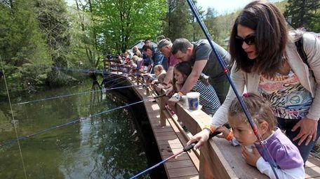 The Cold Spring Harbor Fish Hatchery and Aquarium,