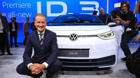 Herbert Diess, chief executive officer of Volkswagen AG,