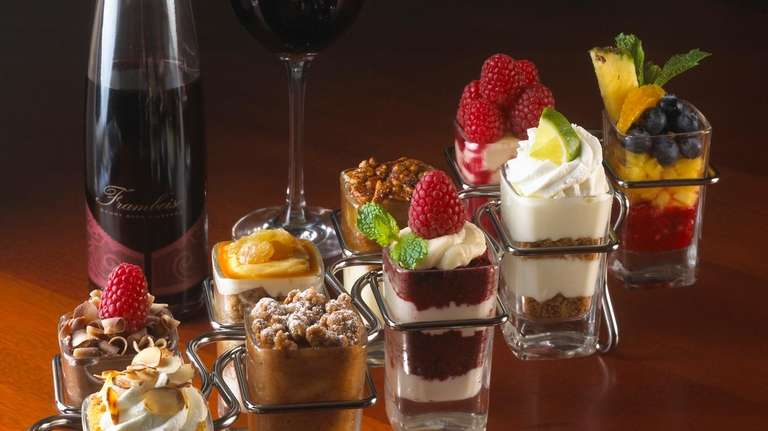 a look at mini indulgences at seasons 52 - Seasons 52 Garden City