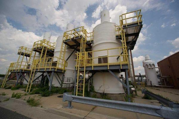 The Cedar Creek Water Pollution Control Plant in