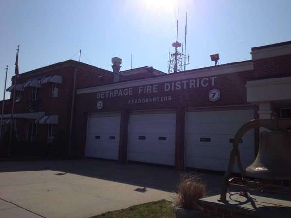 The Bethpage Fire District Headquarters are located at