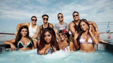 The full cast of Jersey Shore, before the