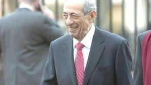 Former Governor of New York, Mario Cuomo, arrives
