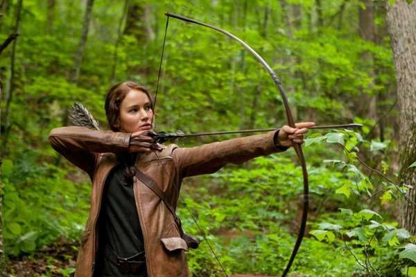 Jennifer Lawrence stars as Katniss Everdeen in quot;The
