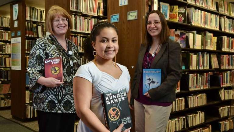 Alyssa Hudson, a sixth-grader from Middle Island, joins