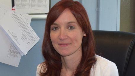 Lauren Lay of Islip has been hired as