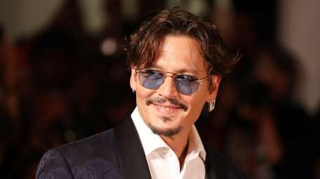 "Johnny Depp attends the ""Waiting for the Barbarians"""