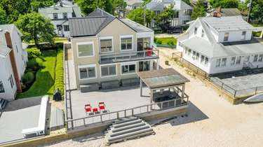 This Bayville house is listed for $2.6 million.