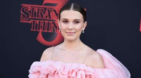 Millie Bobby Brown attends the season 3 premiere