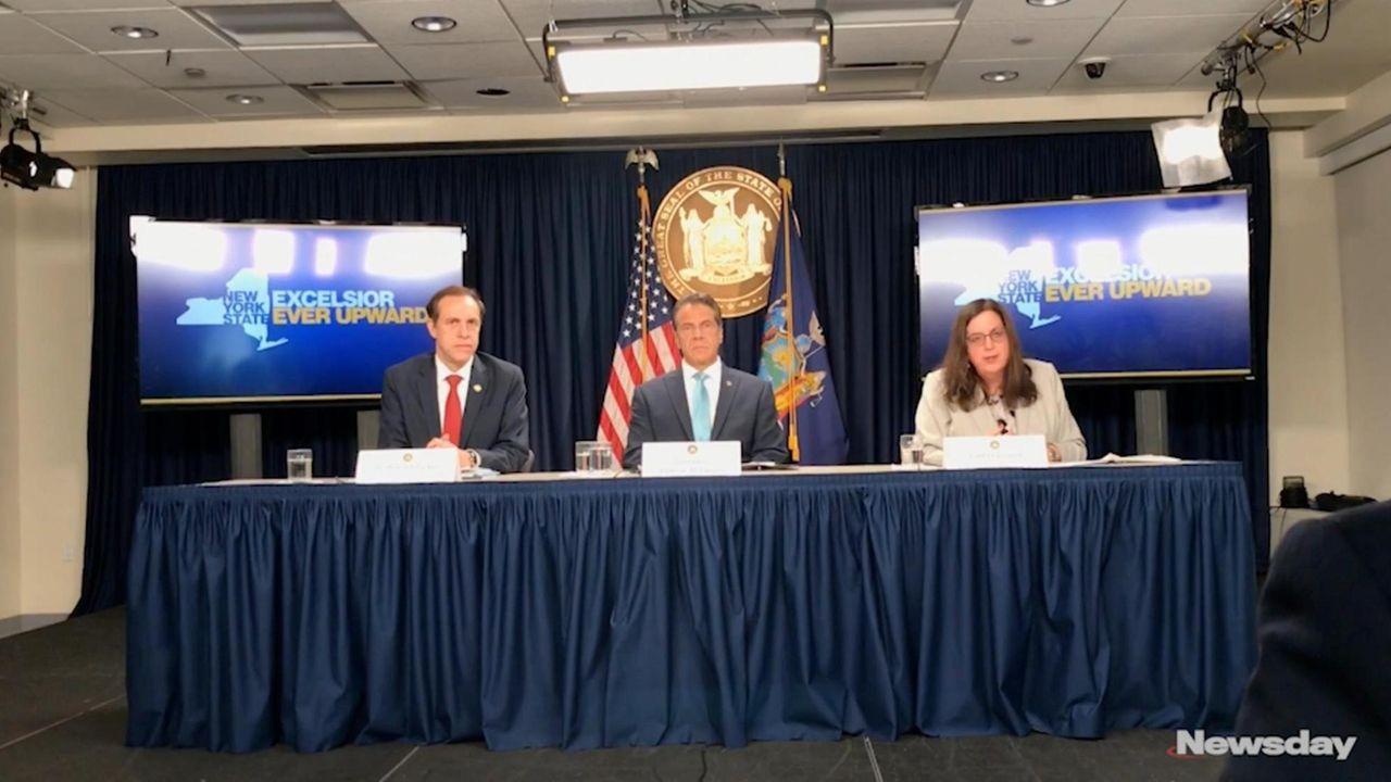 On Tuesday, Gov. Andrew M. Cuomo spoke in