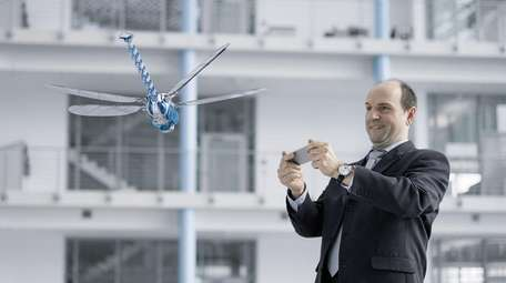 The BionicOpter, with a wingspan of 24 inches,