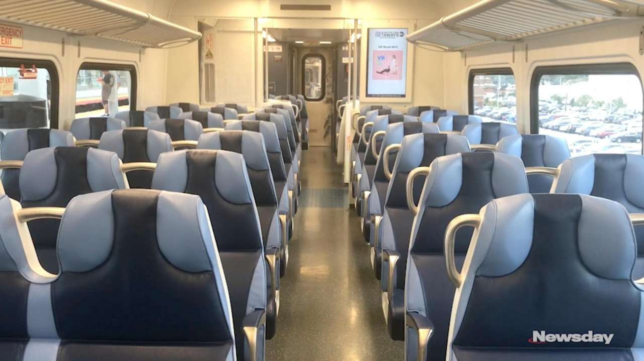 LIRR president Phillip Eng on Tuesday rode the