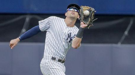 FILE PHOTO: New York Yankees shortstop Tyler Wade