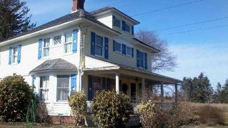 This Southold house was built from a kit