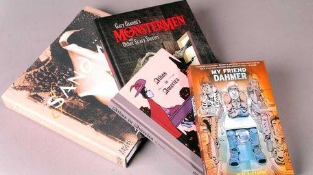 New comics and graphic novels.