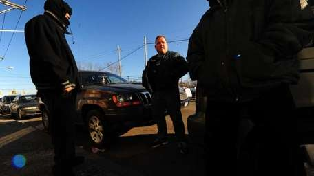 Brendan Grogan, a Suffolk County anti-gang police officer,