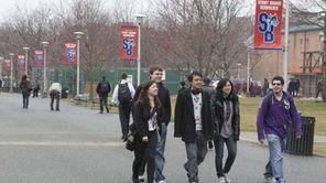 The campus at Stony brook University in Stony