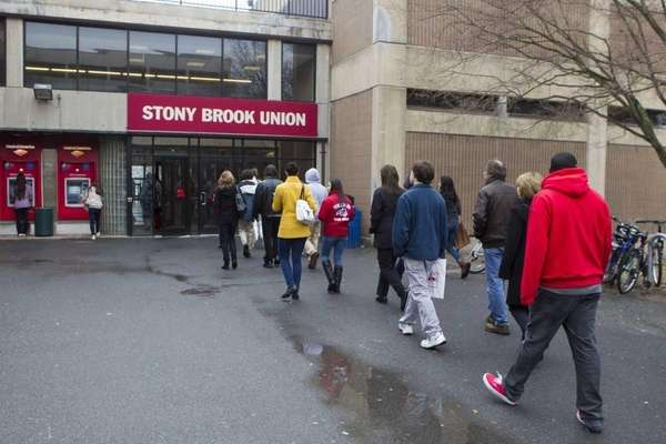 The campus at Stony brook University in Stony