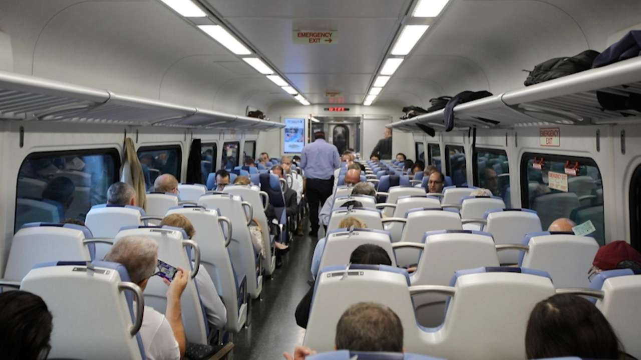 On Wednesday, the Long Island Rail Road's first new