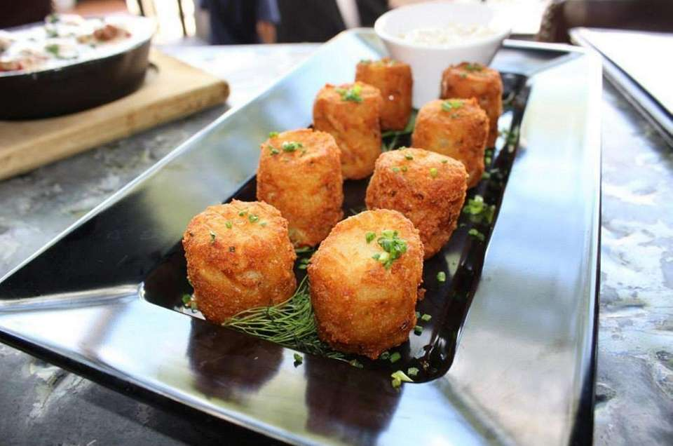 TMP tater tots are house made tots with
