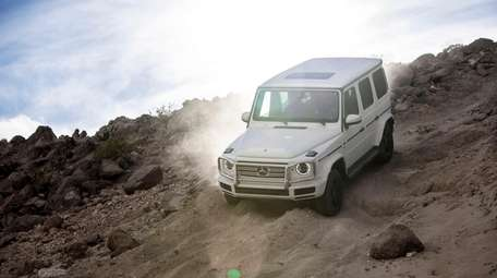 The 2019 Mercedes-Benz G550, a redesigned off-roader, delivers