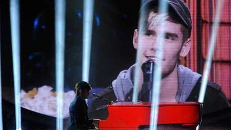 Colton Dixon was in his element, and kept