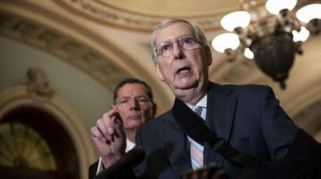 Senate Majority Leader Mitch McConnell (R-Ky.) on Tuesday.