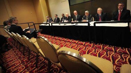Members of the Nassau County Interim Finance Authority
