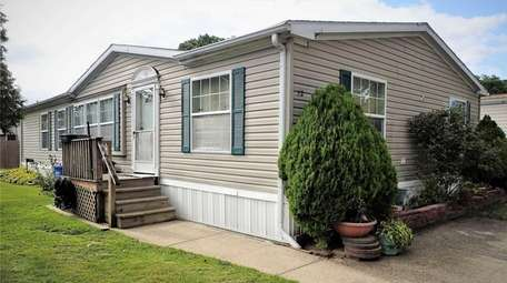 This Bohemia mobile home is listed for $164,500.