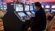 Video lottery terminals at Resorts World Casino-New York