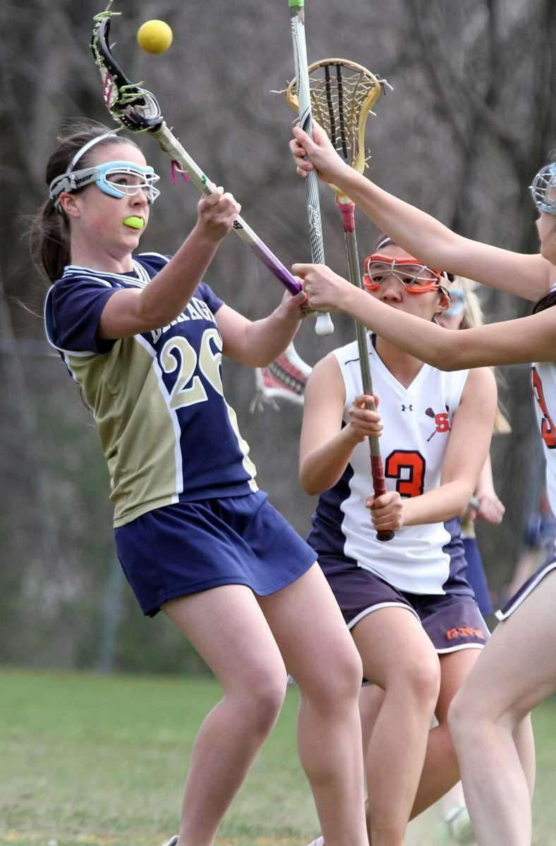 Bethpage's Molly Reilly gets the shot off during
